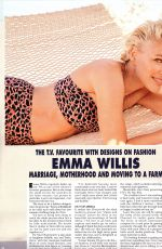 EMMA WILLIS in Hello! Magazine, July 2019