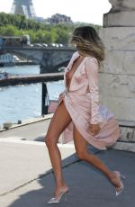 ERICA PELOSINI at Pont Alexandre III Bridge in Paris 07/02/2019