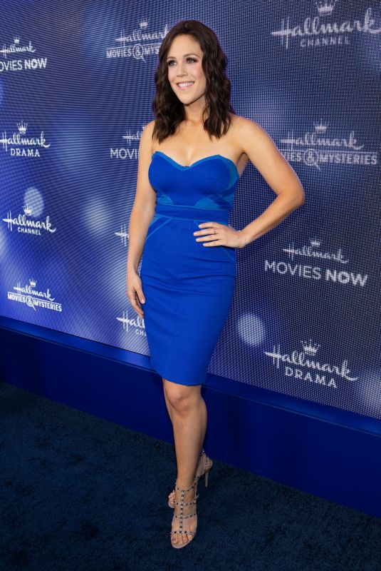 ERIN KRAKOW at Hallmark Movies & Mysteries 2019 Summer TCA Press Tour in Beverly Hills 07/26/2019