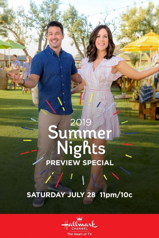 ERIN KRAKOW – Hallmark's 2019 Summer Night Promos