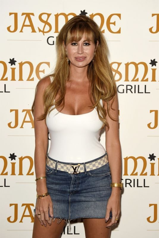 ESTER DEE at Jasmine Grill Launch in Manchester 07/25/2019
