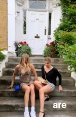 EUGENIE and BEATRICE BOUCHARD - Instagram Pictures July 2019