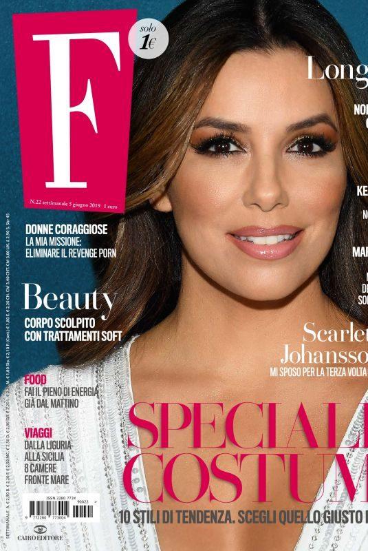 EVA LONGORIA in F Magazine, June 2019