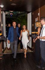 EVA LONGORIA Out for Dinner in Miami 07/19/2019