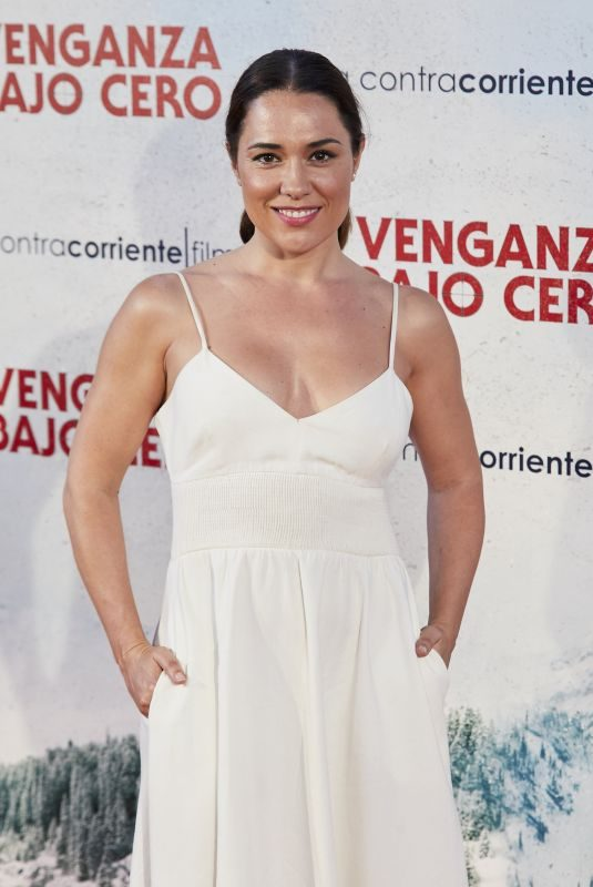 EVA MARCIEL at Cold Pursuit Premiere in Madrid 07/15/2019