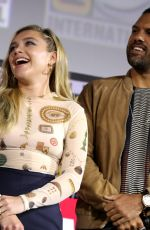 FLORENCE PUGH at Marvel Panel at Comic-con 2019 in San Diego 07/20/2019