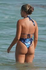 FRANCESCA AIELLO in Bikini at a Beach in Miami 07/16/2019