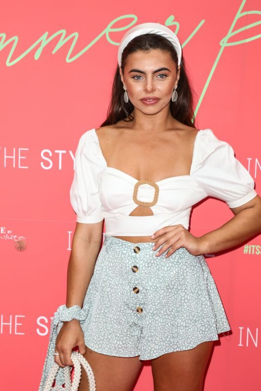FRANCESCA ALLEN at In the Style Summer Party at Libertine in London 07/25/2019