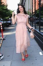 FRANCESCA REALE Arrives at Build Series in New York 07/19/2019