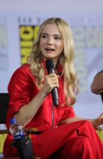 FREYA ALLEN at The Witcher Panel at Comic-con 2019 in San Diego 07/19/2019