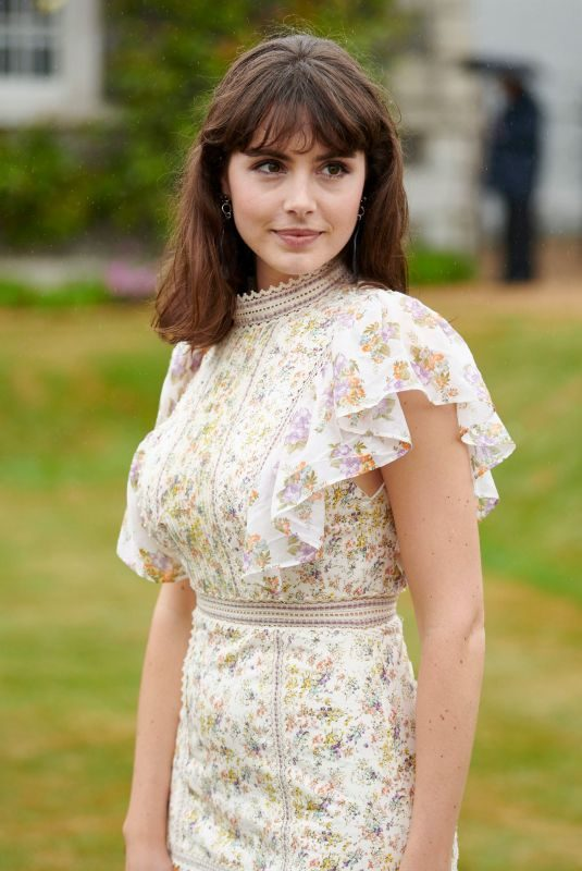 GENEVIEVE GAUNT at Cartier Style et Luxe at Goodwood Festival of Speed 2019 in Chichester 07/07/2019