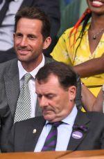 GEORGIE THOMPSON at Wimbledon 2019 Tennis Championships in London 07/06/2019