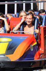 GIGI and BELLA HADID at Disneyland in Anaheim 07/06/2019