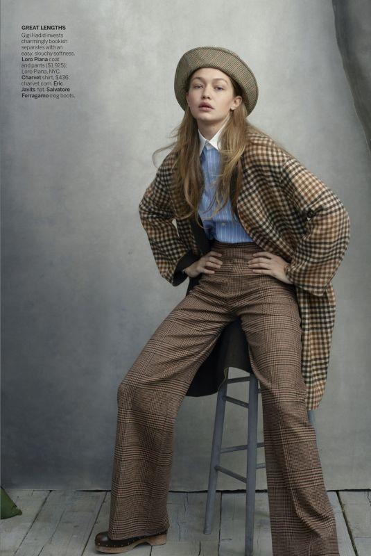 GIGI HADID and KARLIE KLOSS in Vogue Magazine, August 2019