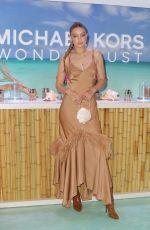 GIGI HADID at Michael Kors Wonderlust Fragrance Campaign Launch in New York 07/16/2019