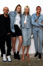 GIGI HADID at Wardrobe.nyc Launch of Release 04 Denim & Levi