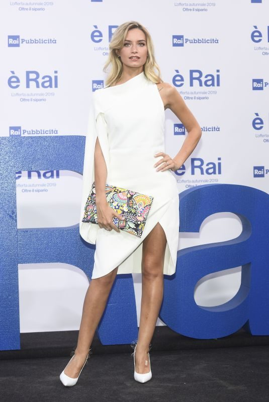 GIULIA ARENA at RAI Pogramming Launch in Milan 07/09/2019