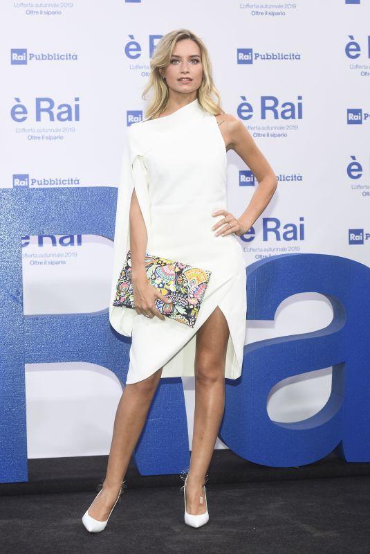 GIULIA ARENA at RAI Pogramming Launch in Milan 07/09/2019