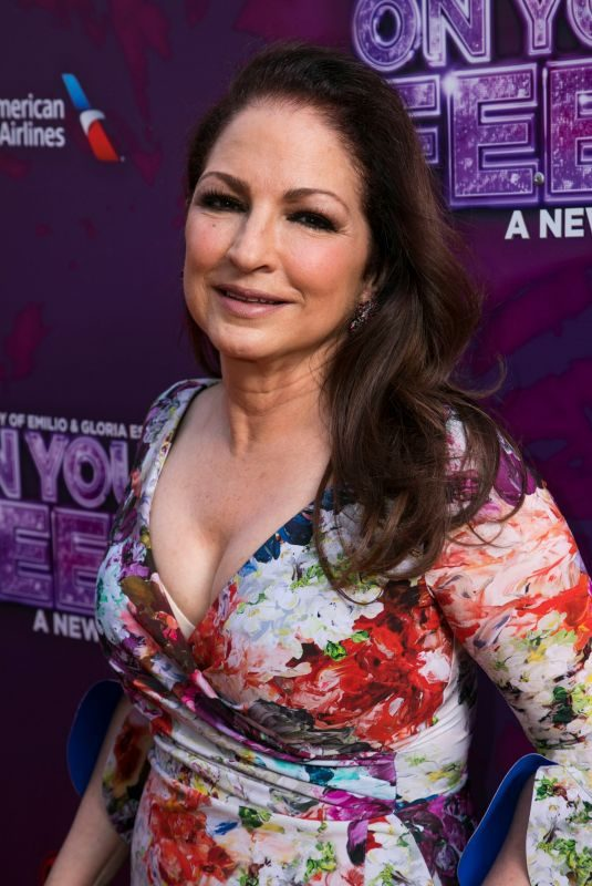 GLORIA ESTEFAN at On Your Feet! Press Night in London 06/27/2019