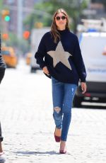 GRACE ELIZABETH at a Photoshoot in New York 07/16/2019