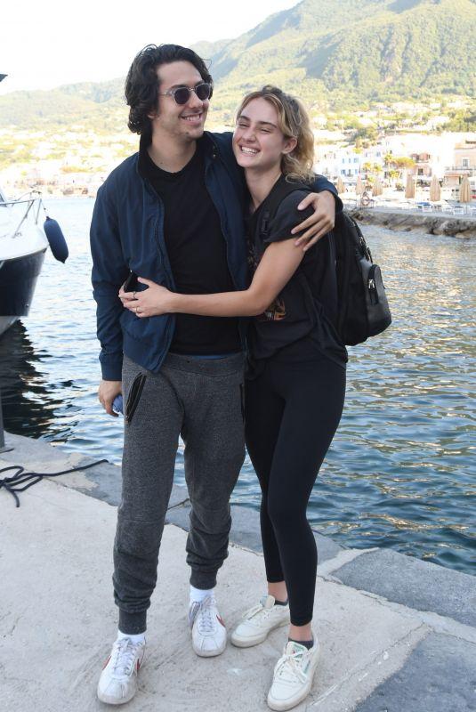 GRACE VAN PATTEN Arrives at Regina Isabella Hotel in Ischia 07/13/2019