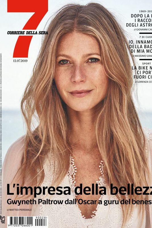 GWYNETH PALTROW in Corriere Della Sera Sette, July 2019