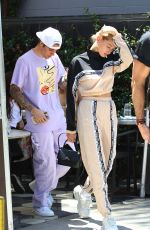 HAILEY and Justin BIEBER Heading to Zoe Church Convention in West Hollywood 07/20/2019