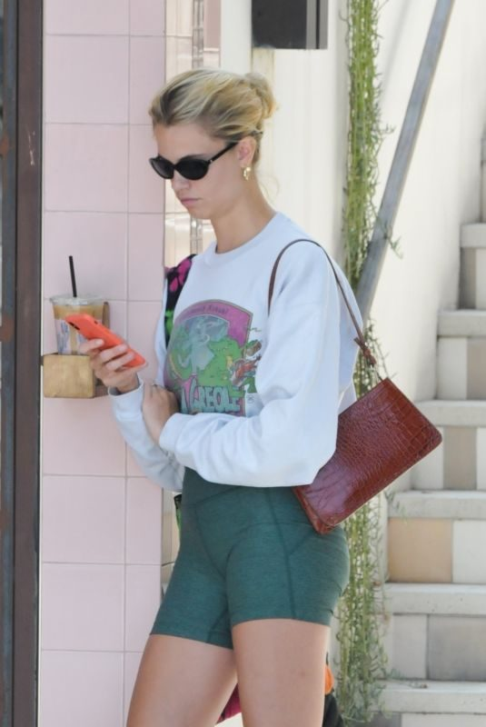 HAILEY CLAUSON Out and About on Los Angeles 07/08/2019