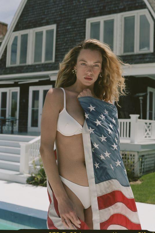 HANNAH FERGUSON for Solid & Striped x Re/done 2019 Swimwear