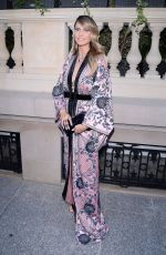 HEIDI KLUM Arrives at Amfar 2019 Party in Paris 06/30/2019