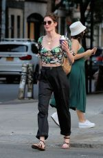 HILARY RHODA Out and About n New York 07/16/2019
