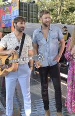 HILARY SCOTT Performs on Good Morning America 07/26/2019