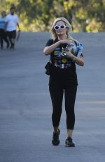 HOLLY MADISON at Griffith Park in Los Angeles 07/16/2019