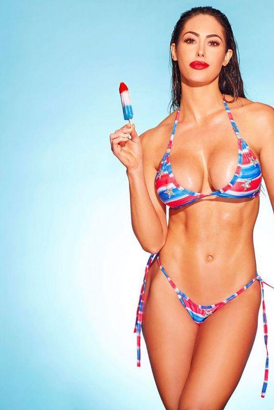 HOPE BEEL in Bikini at a Photoshoot, July 2019