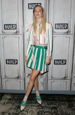 HUNTER SCHAFER at Build Series in New York 07/23/2019