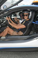 IRINA SHAYK at Formula E 2019 New York City E-Prix 07/14/2019
