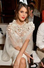 IRIS MITTENAERE at Stephane Rolland Fashion Show at PFW in Paris 07/02/2019