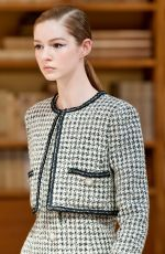 ISABEL JONES at Chanel Haute Couture Runway Show at Paris Fashion Week 07/02/2019