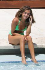 ISABELA MONER in Bikini at a Pool in Miami 07/19/2019