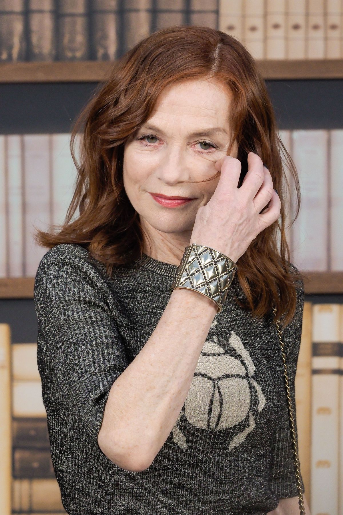 ISABELLE HUPPERT at Chanel Haute Couture Fall/Winter 2019