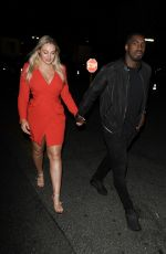 ISKRA LAWRENCE and Philip Payne Night Out in Hollywood 07/09/2019