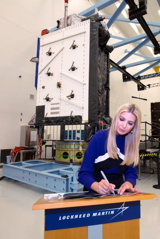 IVANKA TRUMP at Lockheed Martin Space Facility in Denver 07/22/2019