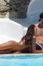 IZABEL GOULART in Bikini at a Pool in Mykonos 07/03/2019