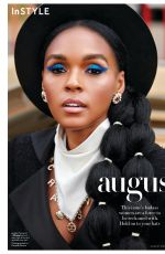 JANELLE MONAE in Instyle Magazine, August 2019