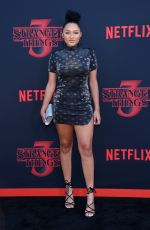 JAYLEN BARRON at Stranger Things, Season 3 Premiere in Santa Monica 06/28/2019