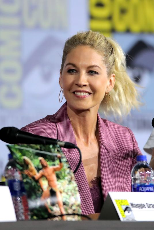 JENNA ELFMAN at Fear the Walking Dead Panel at San Diego Comic-con 07/19/2019