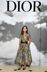 JENNA LOUISE COLEMAN at Christian Dior Haute Couture Show at Paris Fashon Week 07/01/2019
