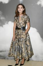 JENNA LOUISE COLEMAN at Christian Dior Haute Couture Show at Paris Fashon Week 07/01/2019