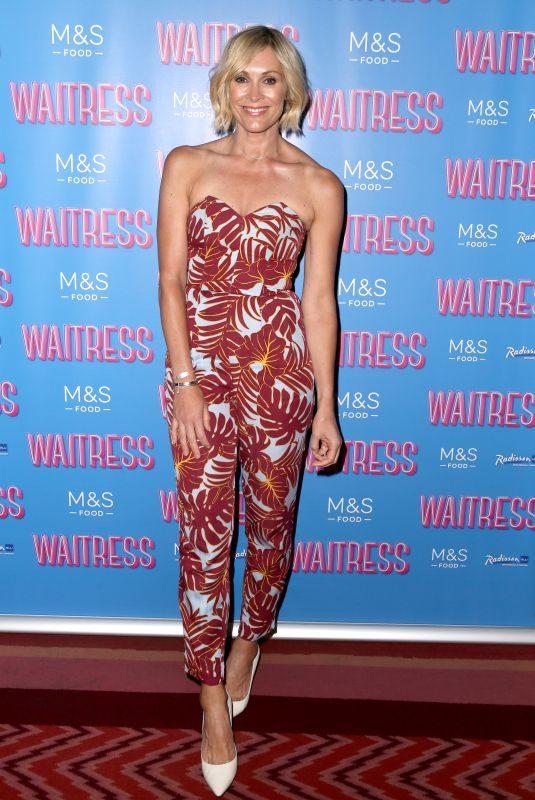 JENNI FALCONER at Waitress Press Night in London 07/02/2019