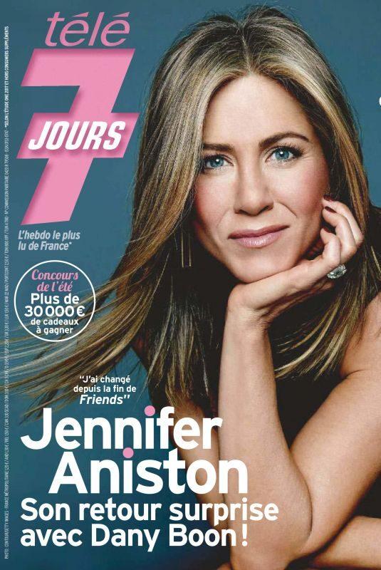 JENNIFER ANISTON in Tele 7 Jours Magazine, July 2019